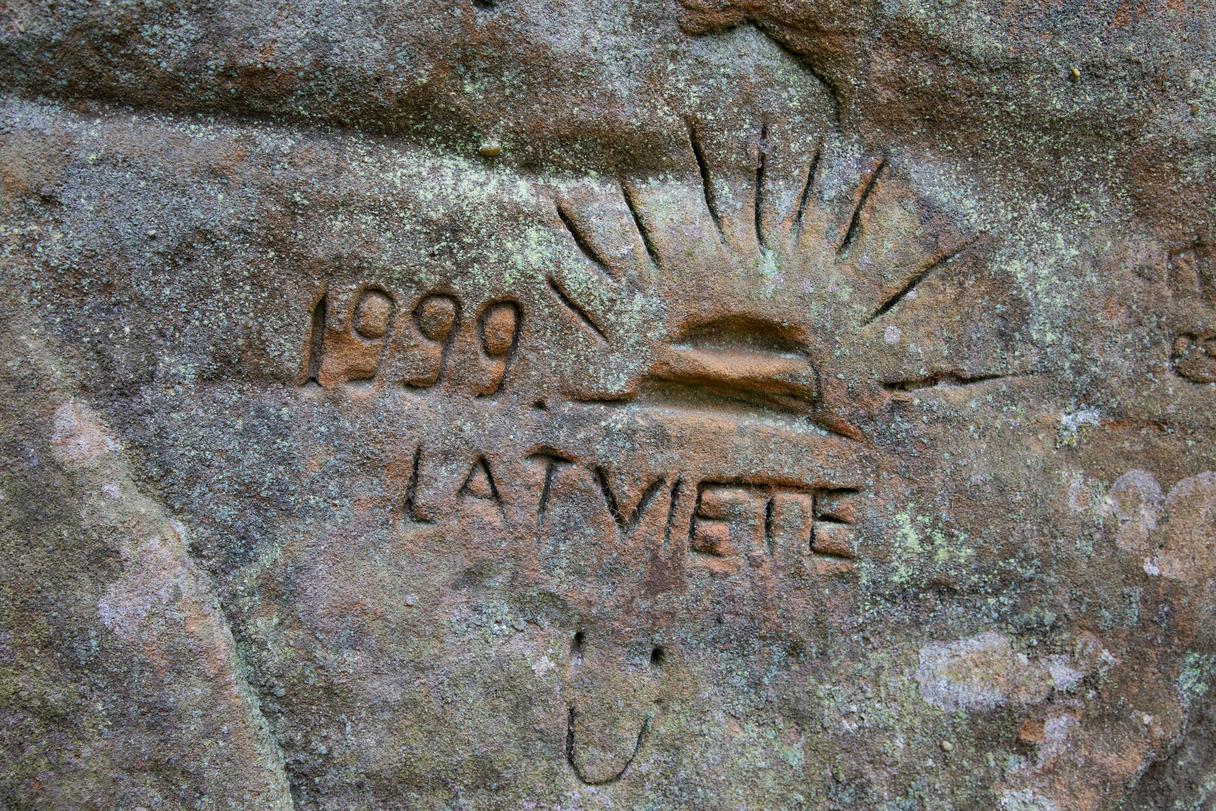Latvijas pērle -Līču Laņģu klintis